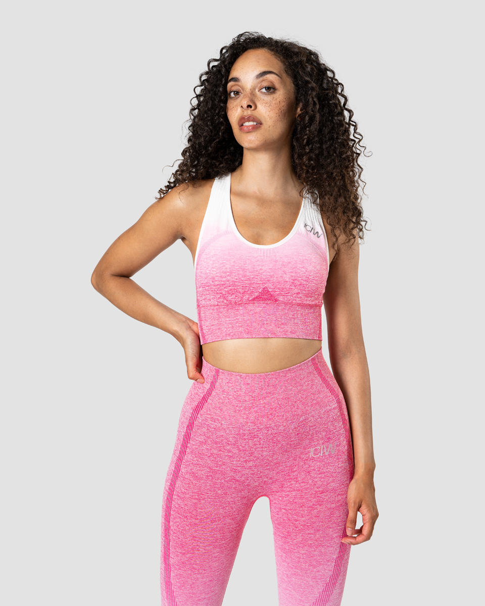 Ombre Seamless Sports Bra Perfection Pink