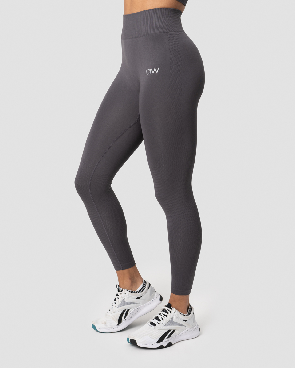 Define Seamless Tights Graphite Wmn