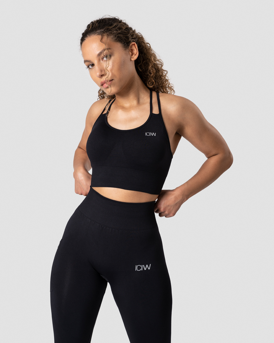 Define Seamless Sports Bra Black