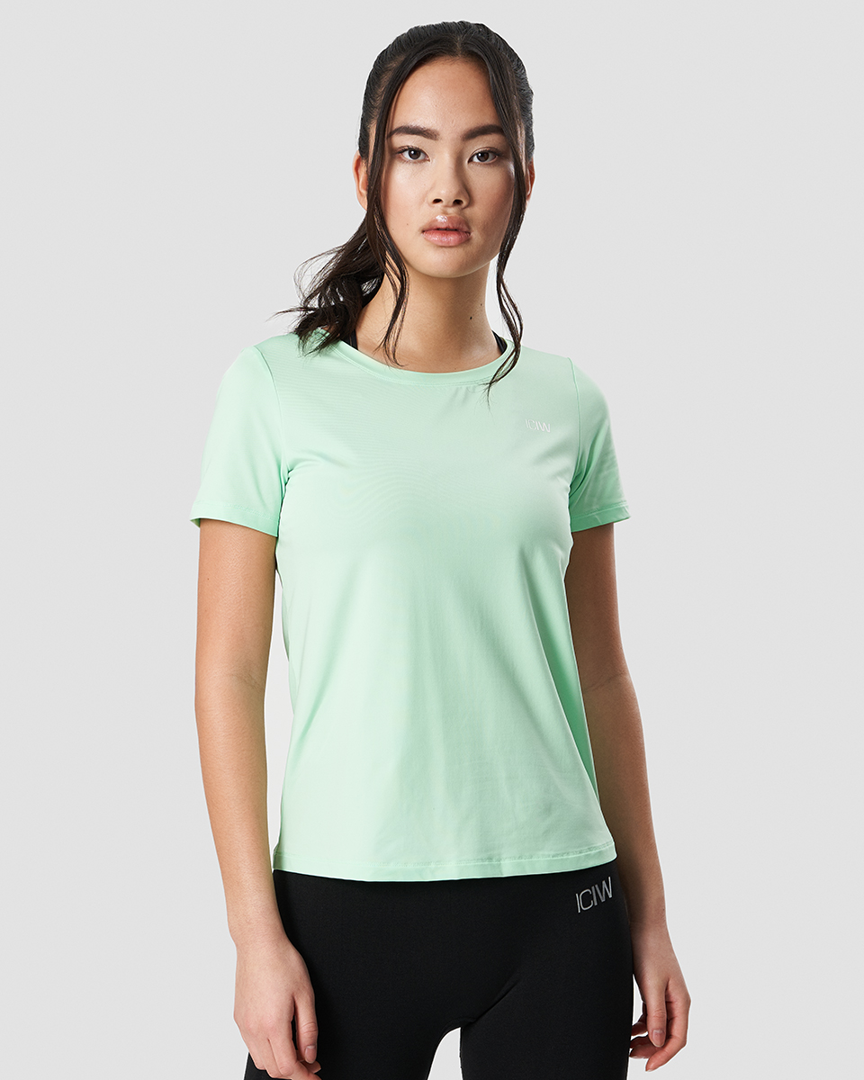 Training T-shirt Spring Green Wmn